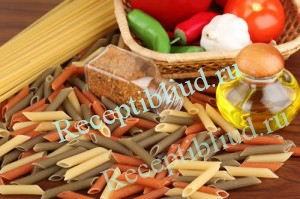 Различные макаронные изделия