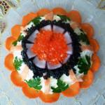 салат на день рожденья, фото