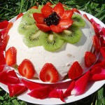 Торт с фруктами