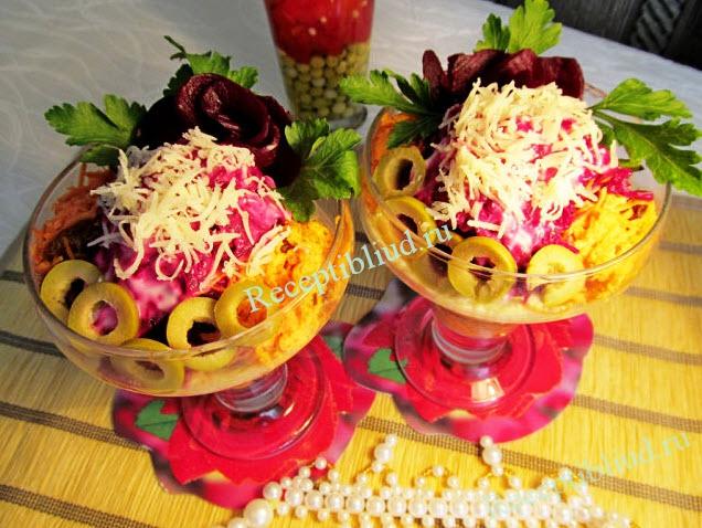 вкусный салат, фото