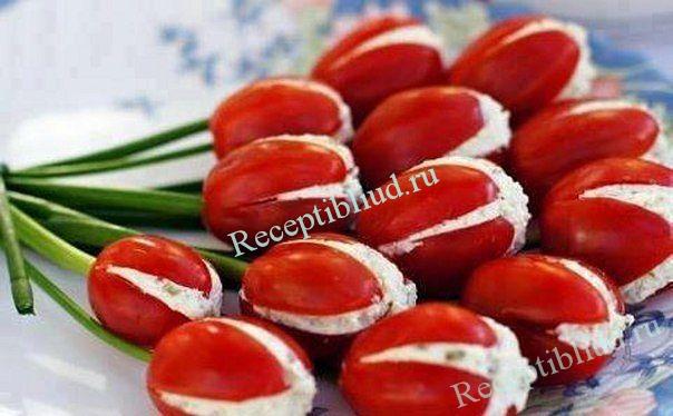 Рецепт закуска из помидоров