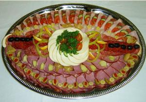 мясная тарелка