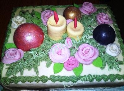 торт новогодний фото