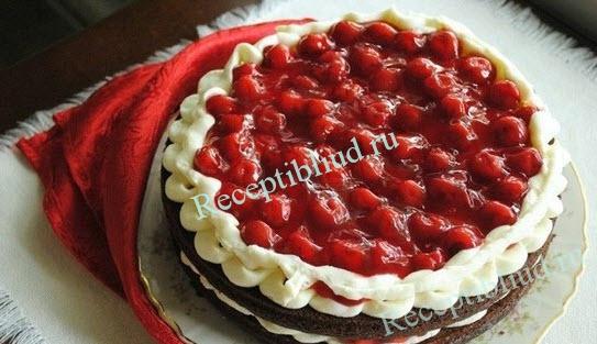 шоколадный торт Подружка