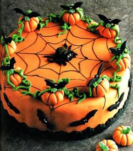 Бисквитный торт Хэллоуин