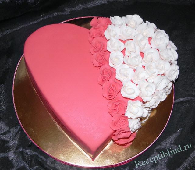 Сделать торт из мастики фото