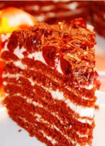 Вишневый торт рецепт фото