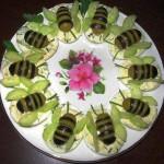 вкусная закуска Удивительные пчелки