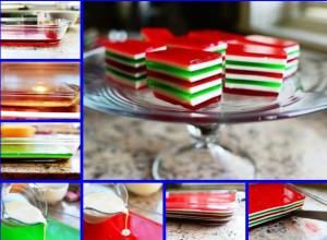 как сделать желейный торт фото