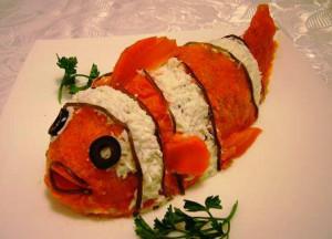 крабовый салат мой любимый Немо фото