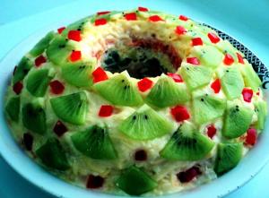 салат Малахитовый браслет рецепт с фото