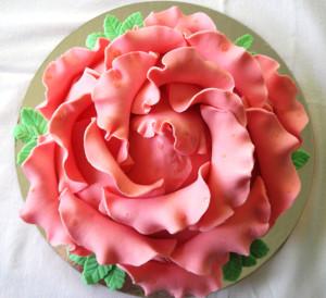 торт роза мастер класс