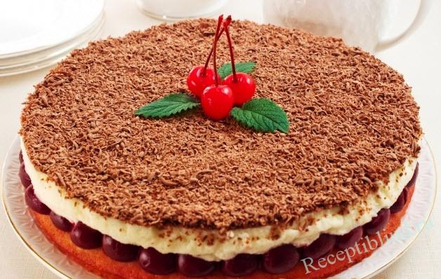 вишневый пирог Наслаждение фото