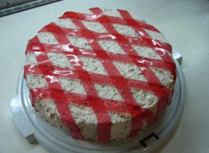 Вкусный торт с вишней