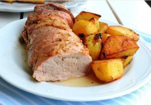 запеченное мясо в духовке  фото