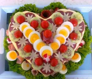 бутербродный торт рецепт фото