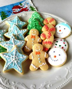новогоднее печенье фото