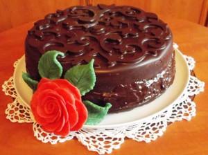 Шоколадный торт суфле