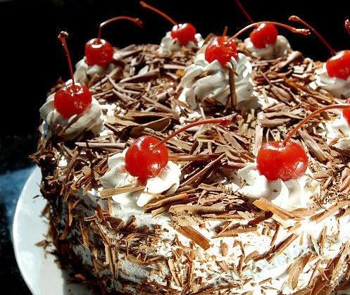 торт Черный лес фото