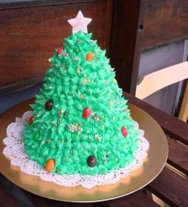 Торт елка фото