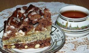 торт со сметанным кремом фото