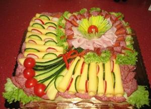 закусочный торт рецепт фото