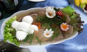 заливной язык рецепт с фото