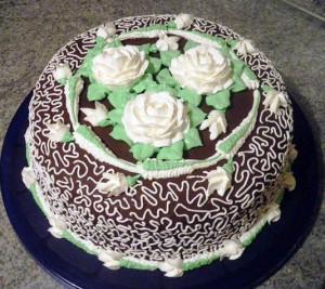 домашний торт Птичье молоко фото