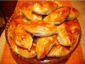 дрожжевые пирожки рецепт с фото