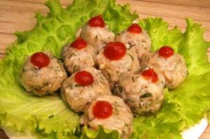 Рецепты постных блюд, Фрикадельки грибные