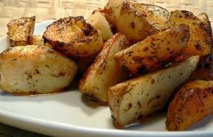 Картофель, запеченный в духовке