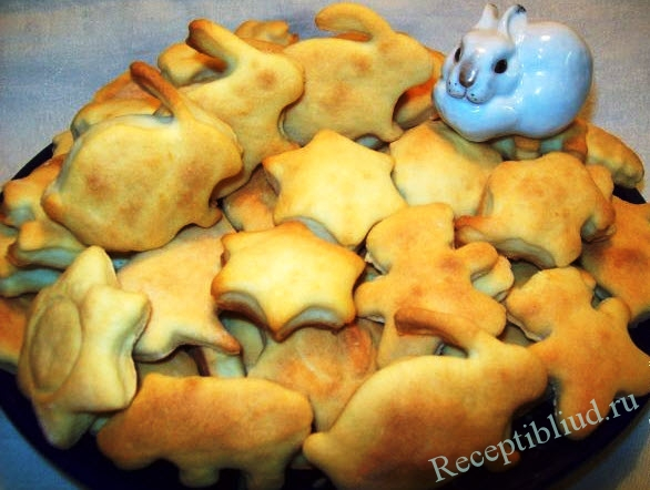 печенье на кефире фото