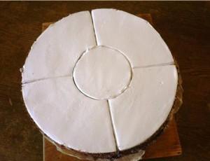 порционный бисквитный торт рецепт