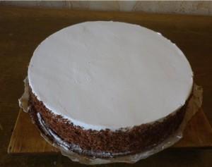 порционный бисквитный торт рецепт с фото