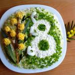 салат 8 Марта фото