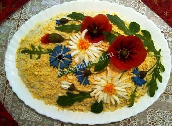 салат легкий праздничный фото