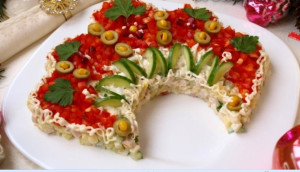 салат русская красавица фото