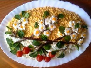 салат с куриной печенью рецепт с фото