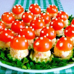 закуска из сыра грибочки фото