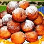 апельсиновые пончики фото