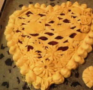дрожжевой пирог фото