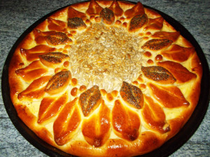 пирог Подсолнух фото