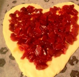пирог в виде сердца рецепт фото