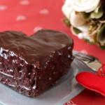 Шоколадный торт на День Валентина
