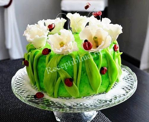 блюда к 8 марта с фото торт простой рецепт