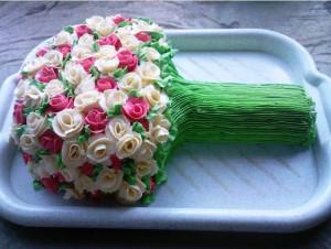 торт Букет роз фото