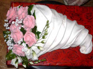торт Букет роз рецепт с фото