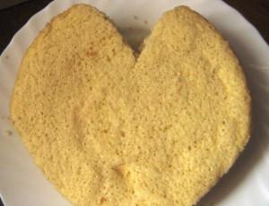 торт в форме сердца рецепт с фото