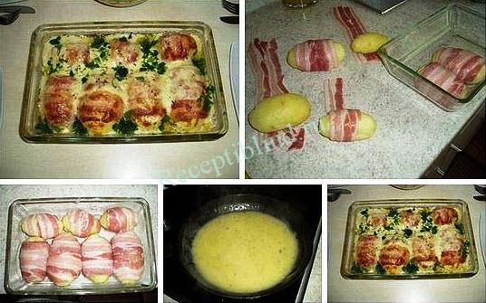 блюдо из картофеля фото