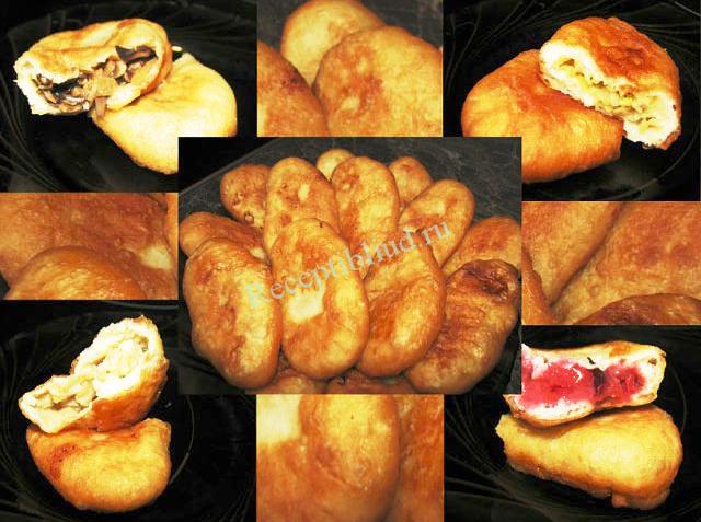 жаренные постные пирожки фото